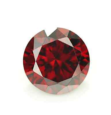Cubic Zirconia Garnet Red Round AAA Rated CZ Loose Stones (1mm - 17mm)