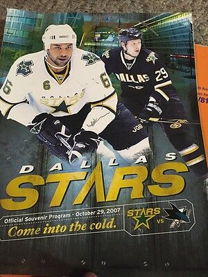 Dallas Stars Signed Program With Mike Modano And Jeremy Roenick Plus 19 More