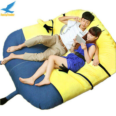 Giant Minion Sofa Bed Tatami Beanbag Mattress Soft Anime Fun Great Gift 3 Models
