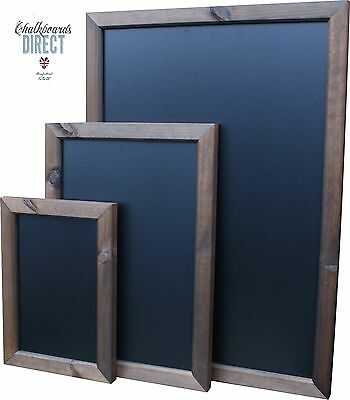 Large Wooden A0 A1 A2 A3  Chalkboard Blackboard Special Wallboard (Fully Framed)