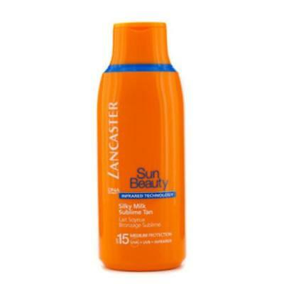 (14,11€/100ml) Lancaster Sun Care Silky Milk Sublime Tan SPF 15 - Sonnenmilch 17