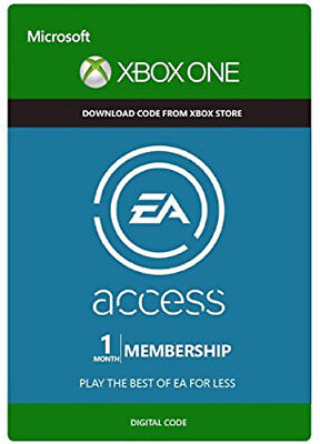 EA Access 1 Monat [XBOX ONE] MITGLIEDSCHAFT CODE 1 MONTH Subscription Key