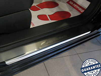 KIA CARENS 2006-11 4pcs Stainless Steel Door Sill Guard Covers Scuff Protectors