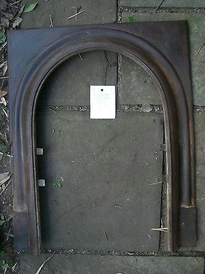 Iron Fireplace SCREEN frame  Arched ANTIQUE  1800's