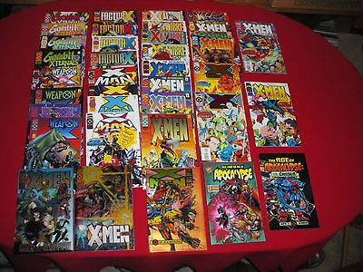 Age Of Apocalypse Complete Sets X-Calibre Weapon X #1 - 4  X-Universe 1 2 X-Men