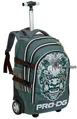 PRO-DG WAR DRAGON grande zaino TROLLEY scuola media o elementare,Travel