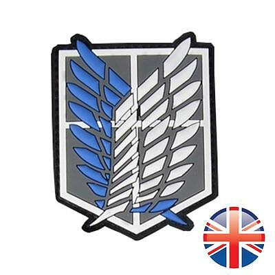 *UK Seller* Velcro Attack on Titan Survey Corps Badge Wings of Freedom Patch