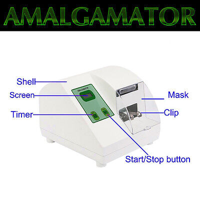 Dental Digital High Speed Amalgamator Amalgam Capsule Mixer HL-AH 4200RPM