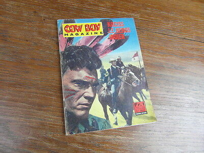 PONZONI EDITEUR MILAN : COW BOY MAGAZINE No 7 Juillet 1966 Kociss PHOTO-ROMAN