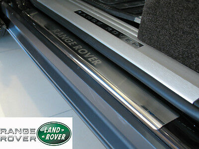 Range Rover L322 Vogue 2002-12 Stainless Steel Door Sill Covers Scuff Protectors