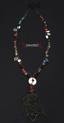 Authentic Berber Necklace - Guelmim Region, South Morocco - Outstanding Piece