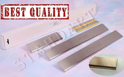 MAZDA CX-5 2012- Stainless Steel Door Sill Guard Covers Scuff Protectors