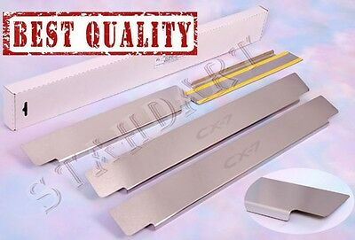 MAZDA CX-7 2007-2012 4pc Stainless Steel Door Sill Guard Covers Scuff Protectors