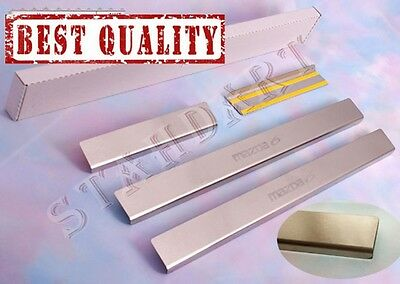 MAZDA 6 2008-2012 4pcs Stainless Steel Door Sill Guard Covers Scuff Protectors