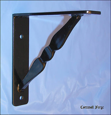 "Wrought Iron Bracket - Corbels Granite - Marble - Shelf - Mantel - 9""x9""x2""x1/4"""