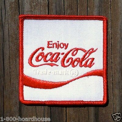 Vintage Original COCA COLA EMPLOYEE Coke Soda Patch 1970s Unused Stock NOS