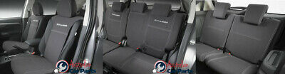 Seat covers Front, 2nd & 3rd Rear set Neoprene Mitsubishi Outlander ZK 2015- Gen