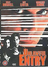 UNLAWFUL ENTRY DVD Kurt Russell Ray Liotta Madeline Stowe Brand New UK Release