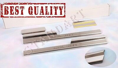 Mitsubishi GALANT IX 2006-2012 Stainless Steel Door Sill Covers Scuff Protectors