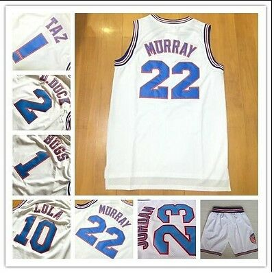 Hot Sell Space Jam Basketball Jersey Tune Squad LOONEY TOONES Basketball New