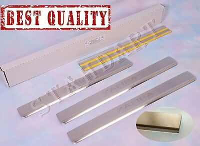 OPEL ZAFIRA B 2005-2011 Stainless Steel Door Sill Guard Cover Scuff Protectors