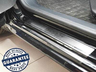 PEUGEOT 208 5D 2013- Stainless Steel Door Sill Guard Cover Scuff Protectors