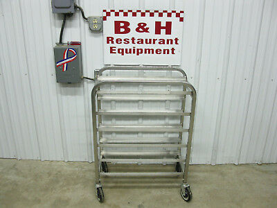 "Stainless Steel Half Size Meat Butcher Food Pan 27"" x 12 1/2"" Meat Lug Tray Rack"