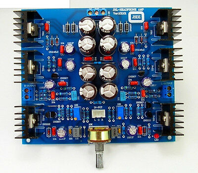 JHL HOOD 1969 Class A small amp headphone amplifier /pre-amp DIY kits
