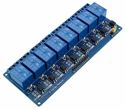 5V 8-Channel Relay Board Module for Arduino Raspberry Pi ARM AVR DSP PIC