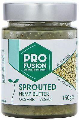 Profusion Activated Sprouted Organic Hemp Butter 150g