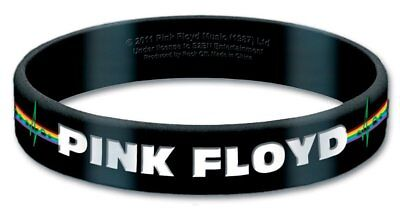 Pink Floyd Gummy Wristband Dark Side Of The Moon Bracelet Official Fan Gift NEW