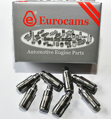 Vw Volkswagen Polo 1.0, 1.2, 1.4, 1.6  Hydraulic Tappets Lifters Set 8 Pcs