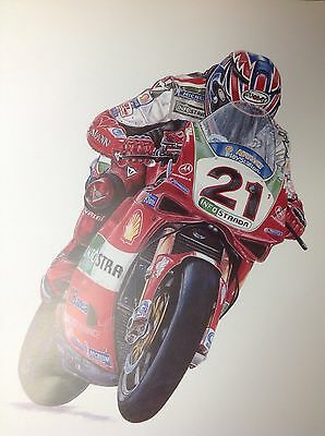 Troy Bayliss , Ducati 998F02 World Superbike colour Picture