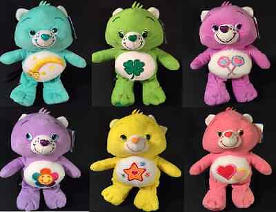 "Care Bear Teddy - Soft Plush Toys 10"" (26Cm) Licenced Item -Brand New With Tags"