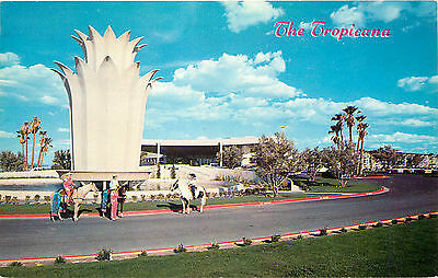 Las Vegas Nv Tropicana Hotel/casino Entrance Chrome P/c