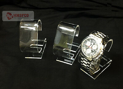 3 Pieces Acrylic Single Watch Display Stand WC2 (Round) - NEW
