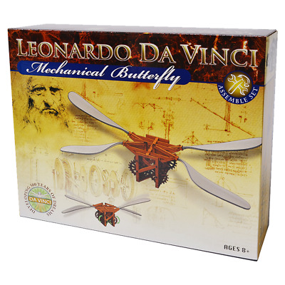 Elenco EDU-61018 Leonardo Da Vinci Mechanical Butterfly Kit