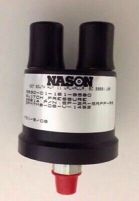 Nason Fuel Pressure Switch # Sp-2A-5Rpp-Rs, 12302684