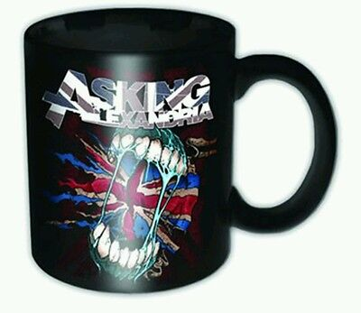 ASKING ALEXANDRIA Flag Eater Tea Mug Official Band Merch Ceramic New Boxed