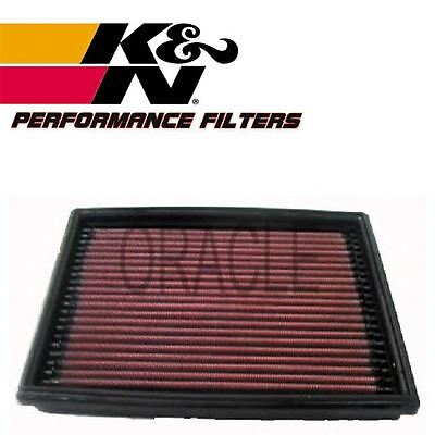 K&n High Flow Air Filter 33-2813 For Peugeot 206 Cc 2.0 S16 136 Bhp 2000-
