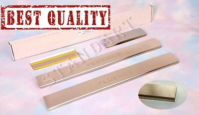 Renault FLUENCE 2009-2012 Stainless Steel Door Sill Guard Cover Scuff Protectors