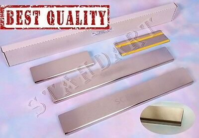 Renault SCENIC III 2009- 4pcs Stainless Steel Door Sill Guard Scuff Protectors
