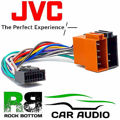 Excellent Jvc Kd R851Bt Model Car Radio Stereo 16 Pin Wiring Harness Loom Iso Wiring Digital Resources Anistprontobusorg
