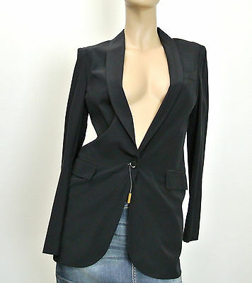 1414ad951 $1495 NEW Authentic Gucci Long Silk Top Jacket Blazer, 46, 257195