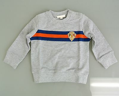 New Authentic Gucci Long Sleeve Sweatshirt w/Hysteria Crest, 9-12 Month, 265541