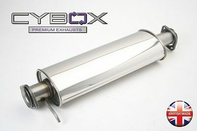 Alfa 156 Cybox Stainless Steel De-Cat Pipe
