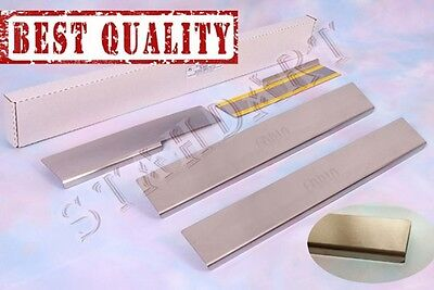 SKODA FABIA 1999-2006 Stainless Steel Door Sill Guard Cover Scuff Protectors