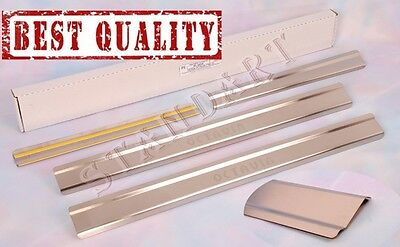 SKODA OCTAVIA A4 Tour 1996-2010 Stainless Steel Door Sill Guard Scuff Protectors
