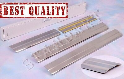 SKODA SUPERB I 2001-2008 Stainless Steel Door Sill Guard Cover Scuff Protectors