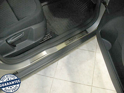 SKODA YETI 2009- 6pcs/set Stainless Steel Door Sill Guard Cover Scuff Protectors